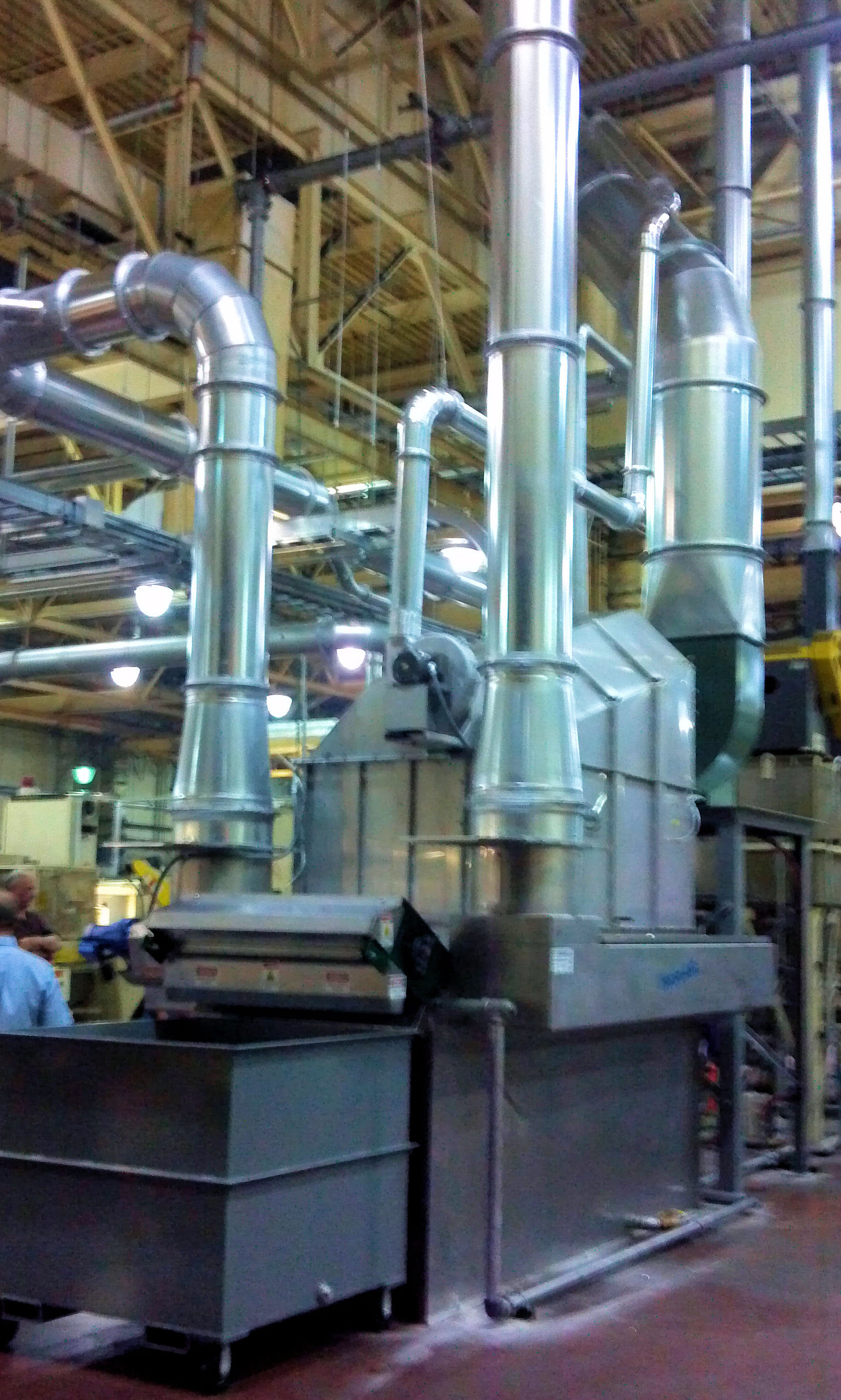 Industrial Filtration Units : Industrial air filtration systems replaceair replace